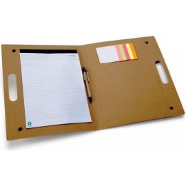 Porte-documents en carton recyclé