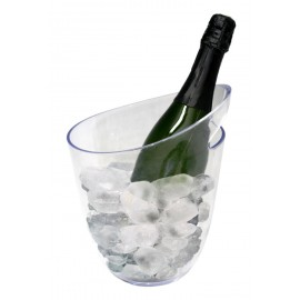Seau Champagne transparent