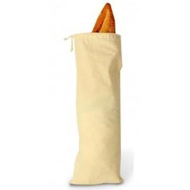 Sac à pain en coton naturel