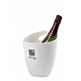 Seau champagne blanc