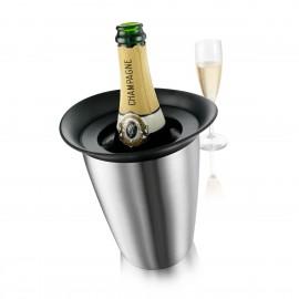 Seau à champagne métallique